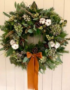 nordic style wreath