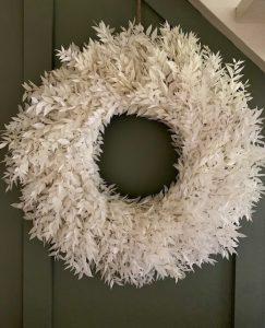 large ruscus wreath