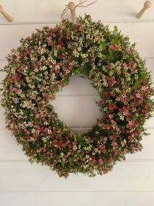 waxflower wreath